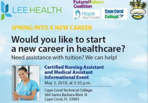 New Career in Healhcare at Cape Coral Technical College