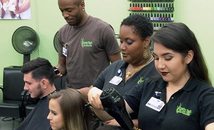 Cosmetology program at CCTC